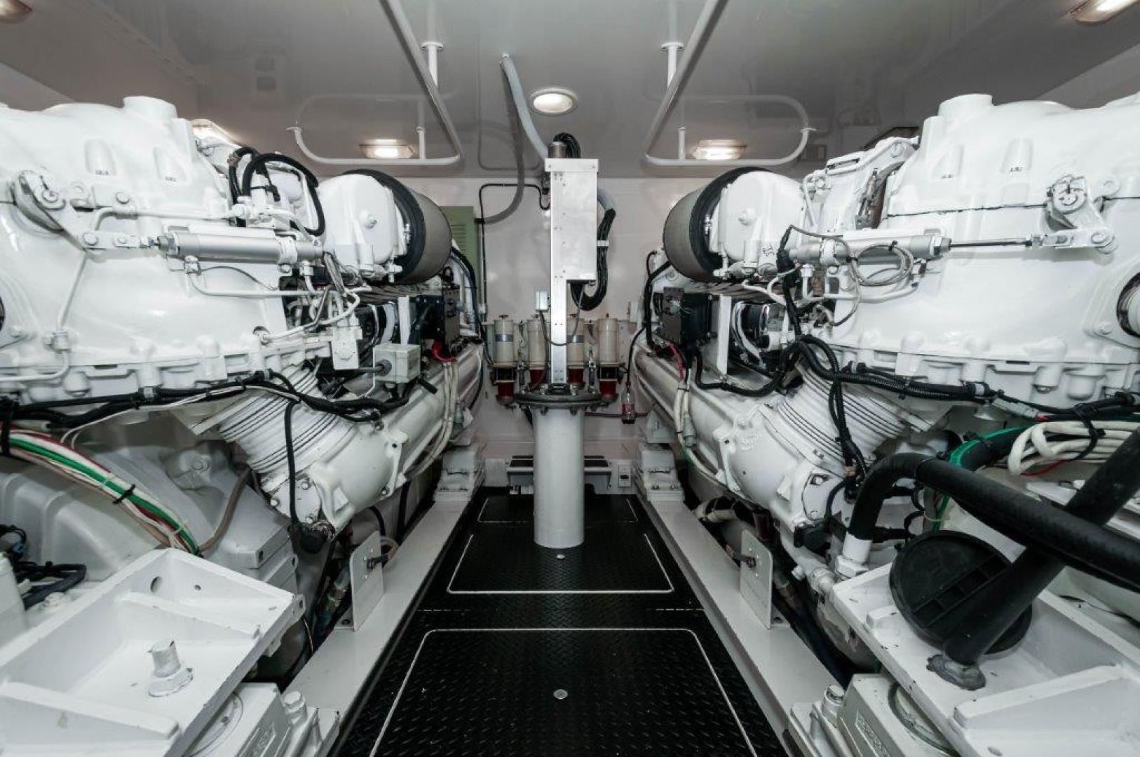 Viking-76 Sportfish 2012-Team Supreme Destin-Florida-United States-2012 Viking 76 Convertible   Engine Room (2)-1284485 | Thumbnail