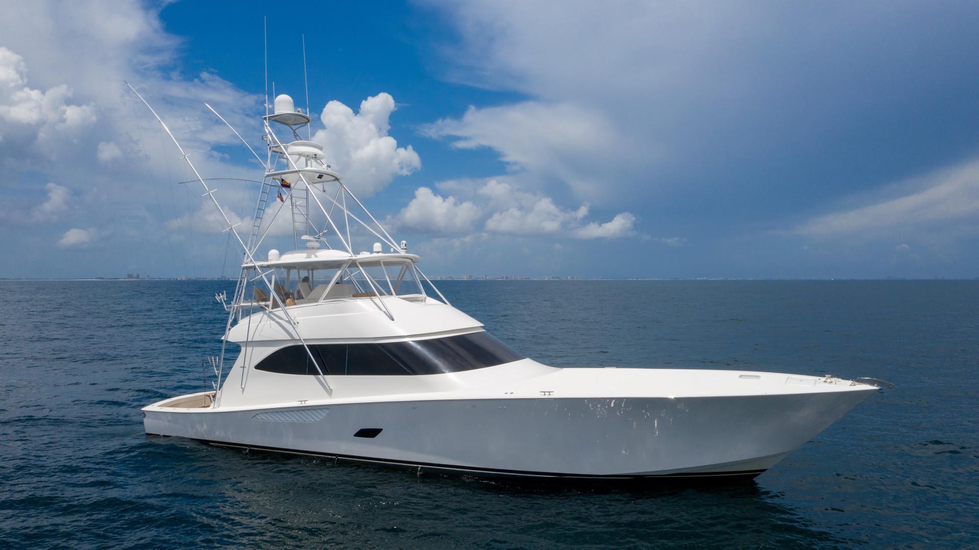 Viking-76 Sportfish 2012-Team Supreme Destin-Florida-United States-2012 Viking 76 SF   Profile Stbd (4)-1457205 | Thumbnail