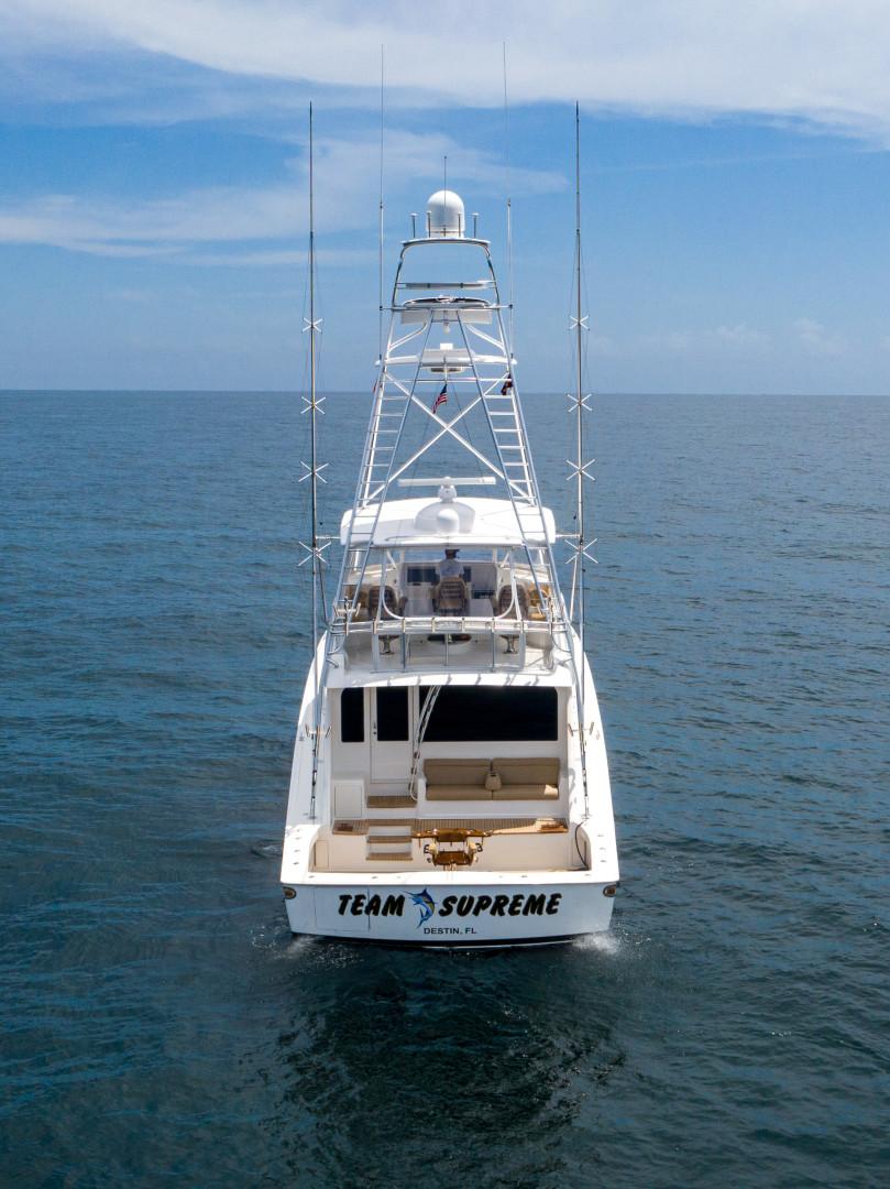 Viking-76 Sportfish 2012-Team Supreme Destin-Florida-United States-2012 Viking 76 SF   Transom-1457221 | Thumbnail