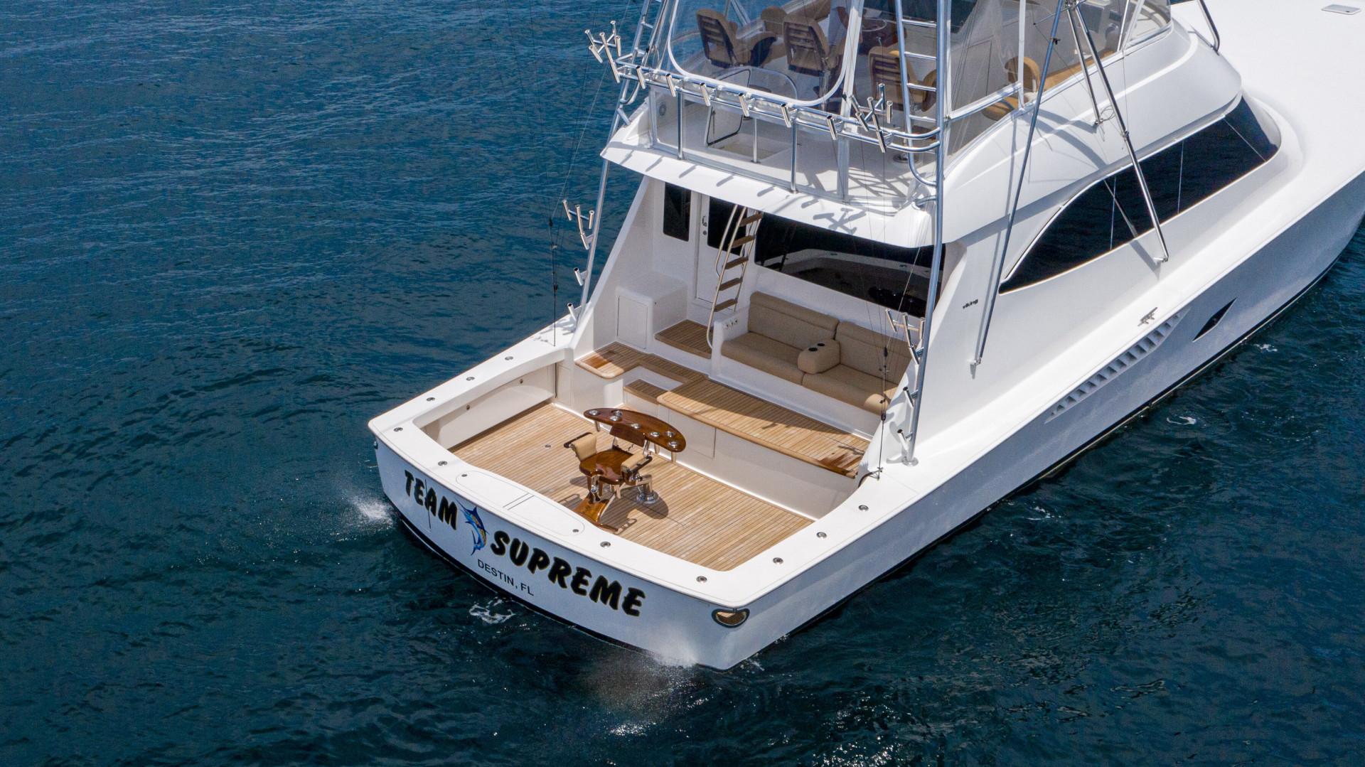Viking-76 Sportfish 2012-Team Supreme Destin-Florida-United States-2012 Viking 76 SF   Transom (1)-1457218 | Thumbnail
