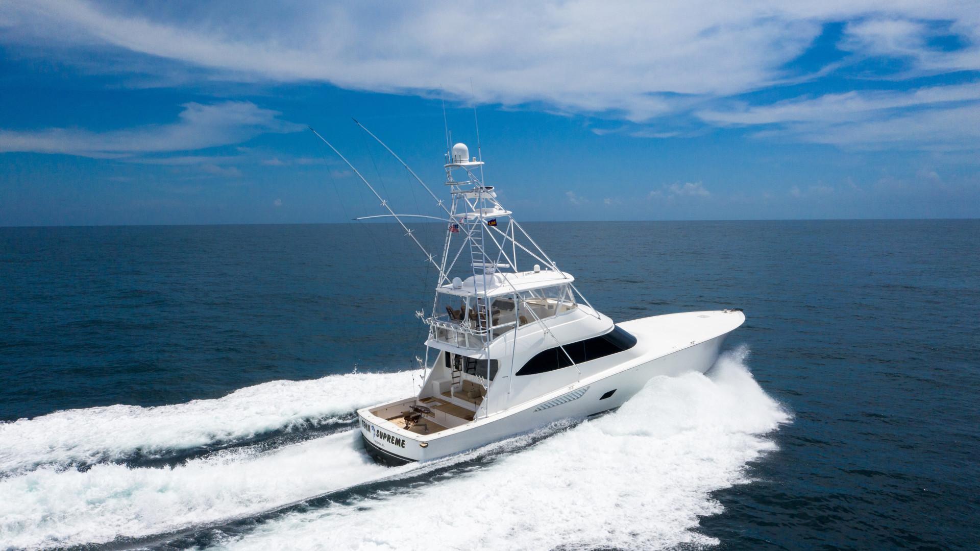 Viking-76 Sportfish 2012-Team Supreme Destin-Florida-United States-2012 Viking 76 SF   Profile Stbd Running (3)-1457212 | Thumbnail