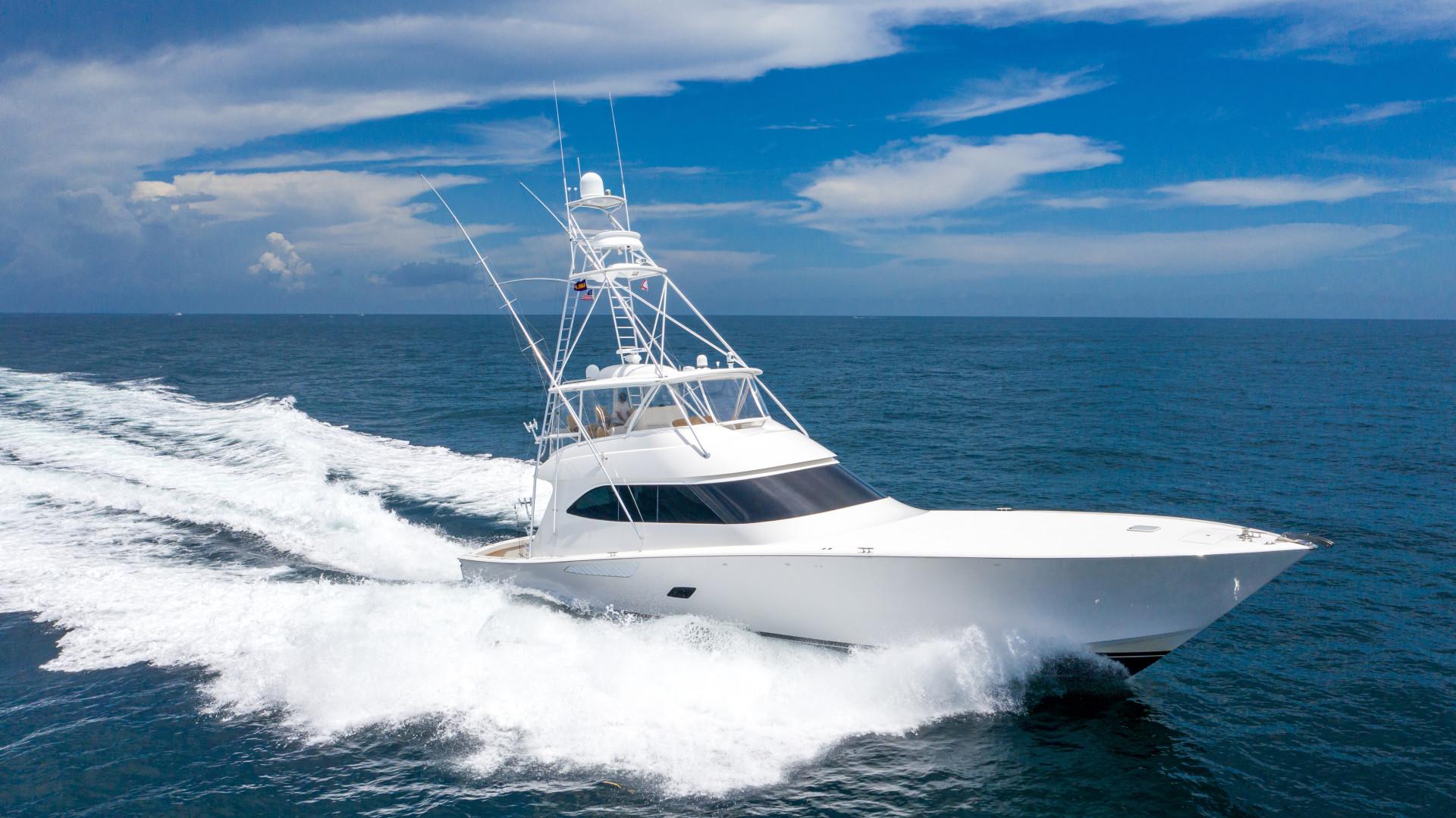Viking-76 Sportfish 2012-Team Supreme Destin-Florida-United States-2012 Viking 76 SF   Profile Stbd Running (2)-1457211 | Thumbnail