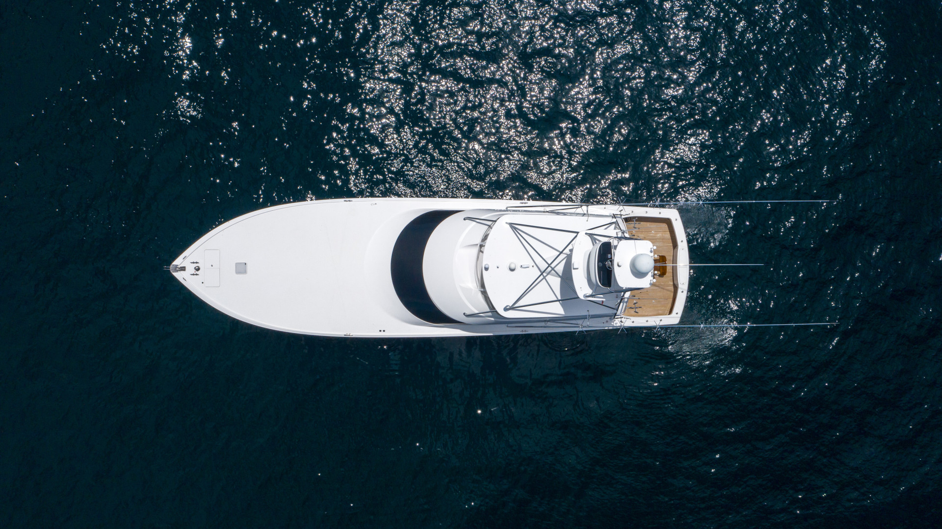 Viking-76 Sportfish 2012-Team Supreme Destin-Florida-United States-2012 Viking 76 SF   Profile Aerial-1457191 | Thumbnail