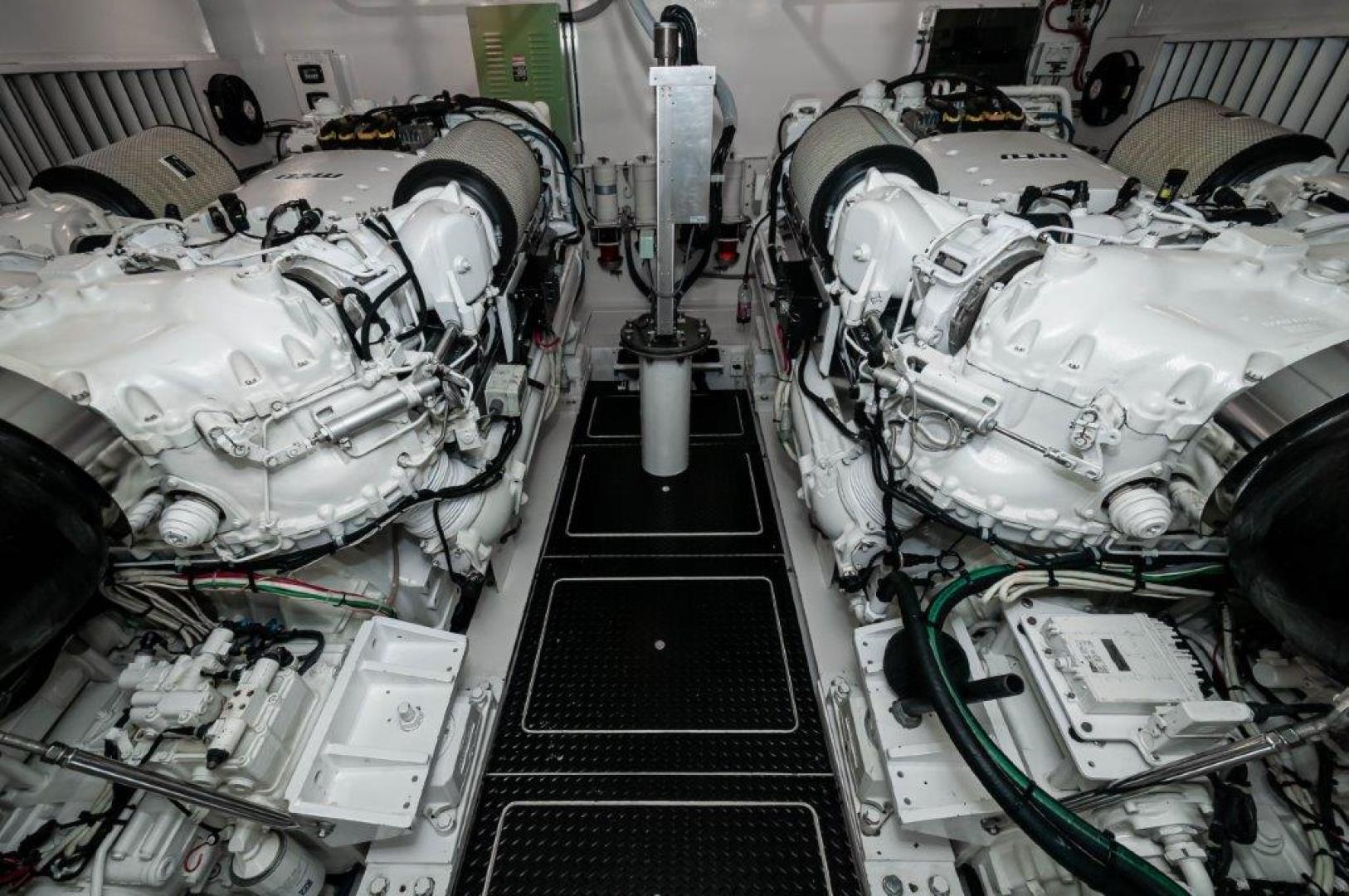 Viking-76 Sportfish 2012-Team Supreme Destin-Florida-United States-2012 Viking 76 Convertible   Engine Room (1)-1284484 | Thumbnail