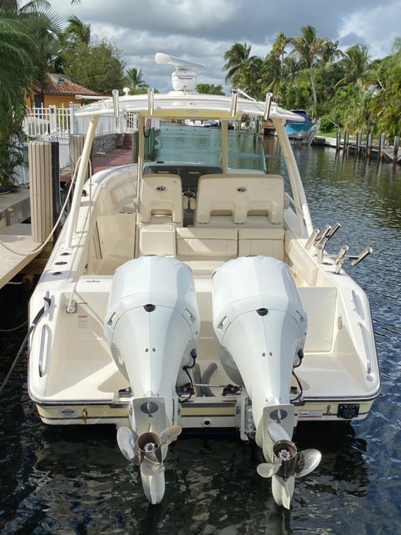 Pursuit-ST310 Center Console 2014 -Boca Raton-Florida-United States-Stern View-1280879 | Thumbnail
