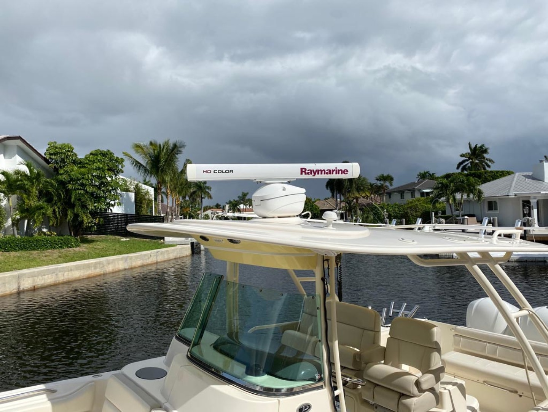 Pursuit-ST310 Center Console 2014 -Boca Raton-Florida-United States-Hardtop Mounted Raymarine Radar-1280870 | Thumbnail