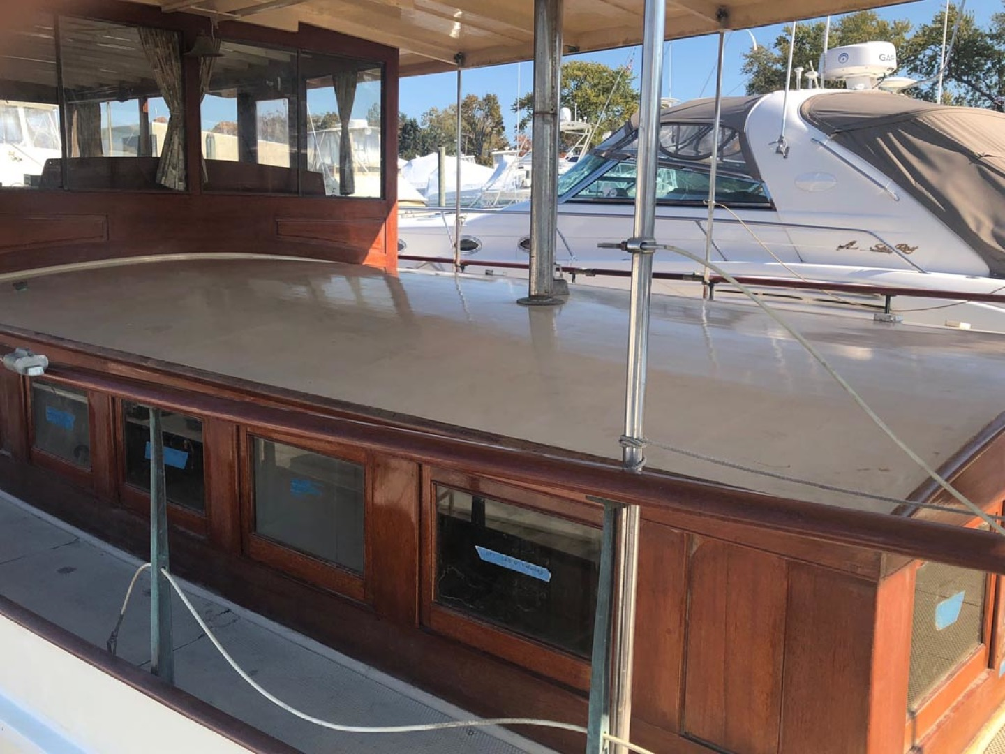 Elco-Deckhouse Motoryacht 1928-Queen O Scots Wickford-Rhode Island-United States-Cabin Top-1284966 | Thumbnail