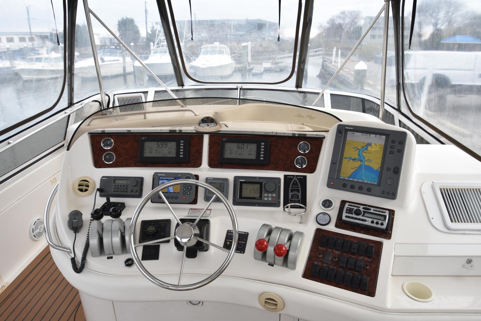 Sea Ray-480 Sedan Bridge 1999-Second Wind Hampton-Virginia-United States-1285222 | Thumbnail