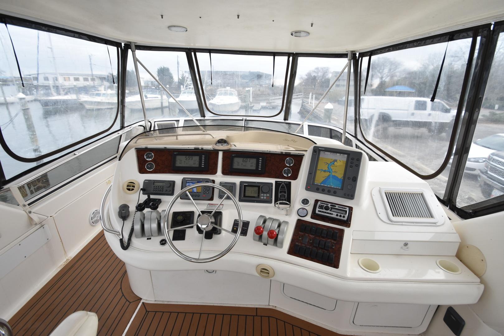 Sea Ray-480 Sedan Bridge 1999-Second Wind Hampton-Virginia-United States-1285223 | Thumbnail