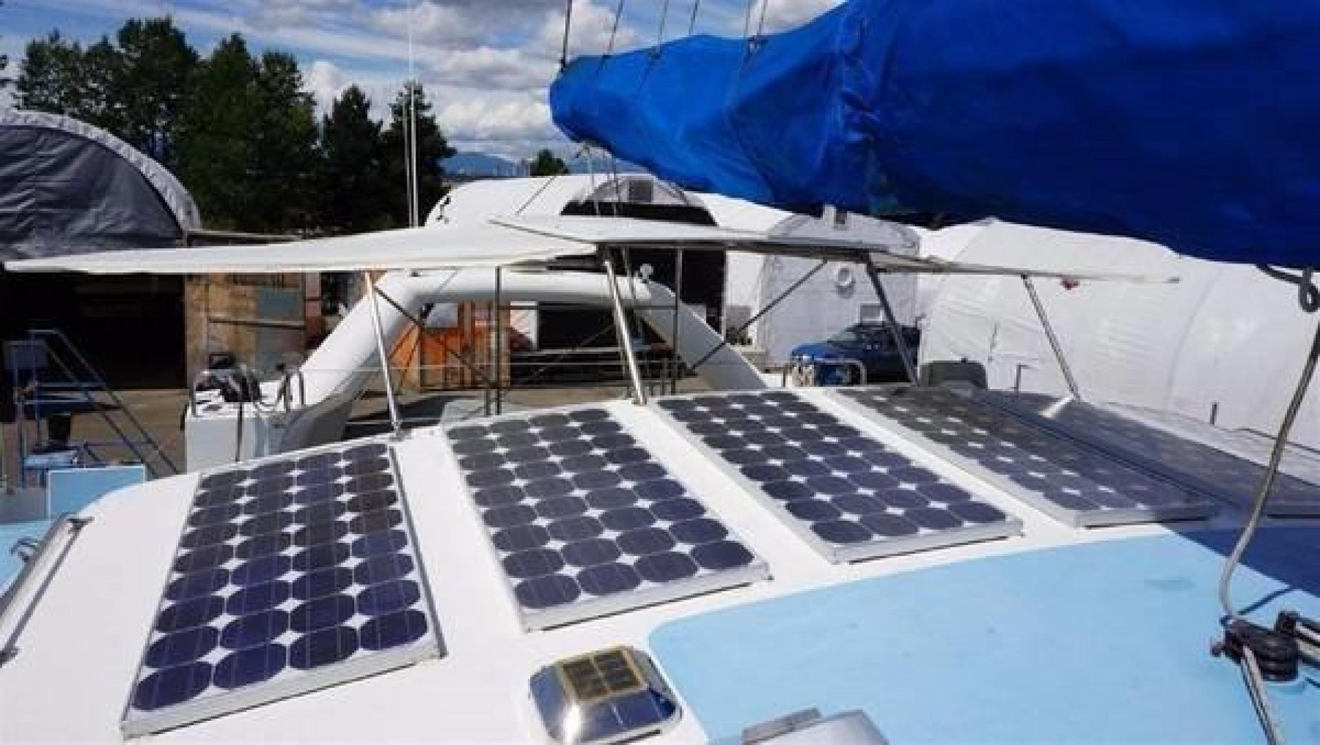 Custom-Simpson Slipstream 15 1998-Journey II Gibsons-British Columbia-Canada-Solar Panels-1285595 | Thumbnail