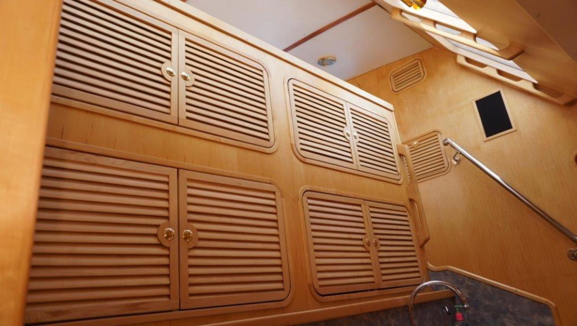 Custom-Simpson Slipstream 15 1998-Journey II Gibsons-British Columbia-Canada-Galley Cabinetry-1285605 | Thumbnail