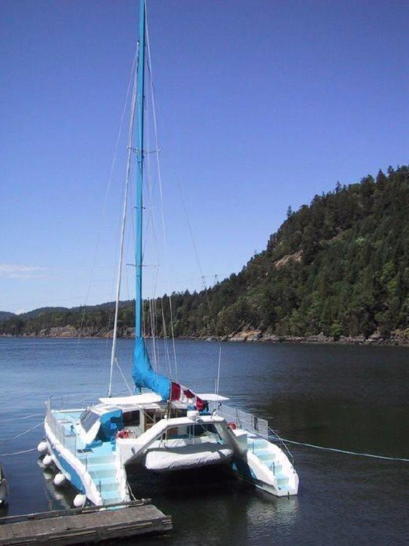 Custom-Simpson Slipstream 15 1998-Journey II Gibsons-British Columbia-Canada-Stern View-1285591 | Thumbnail