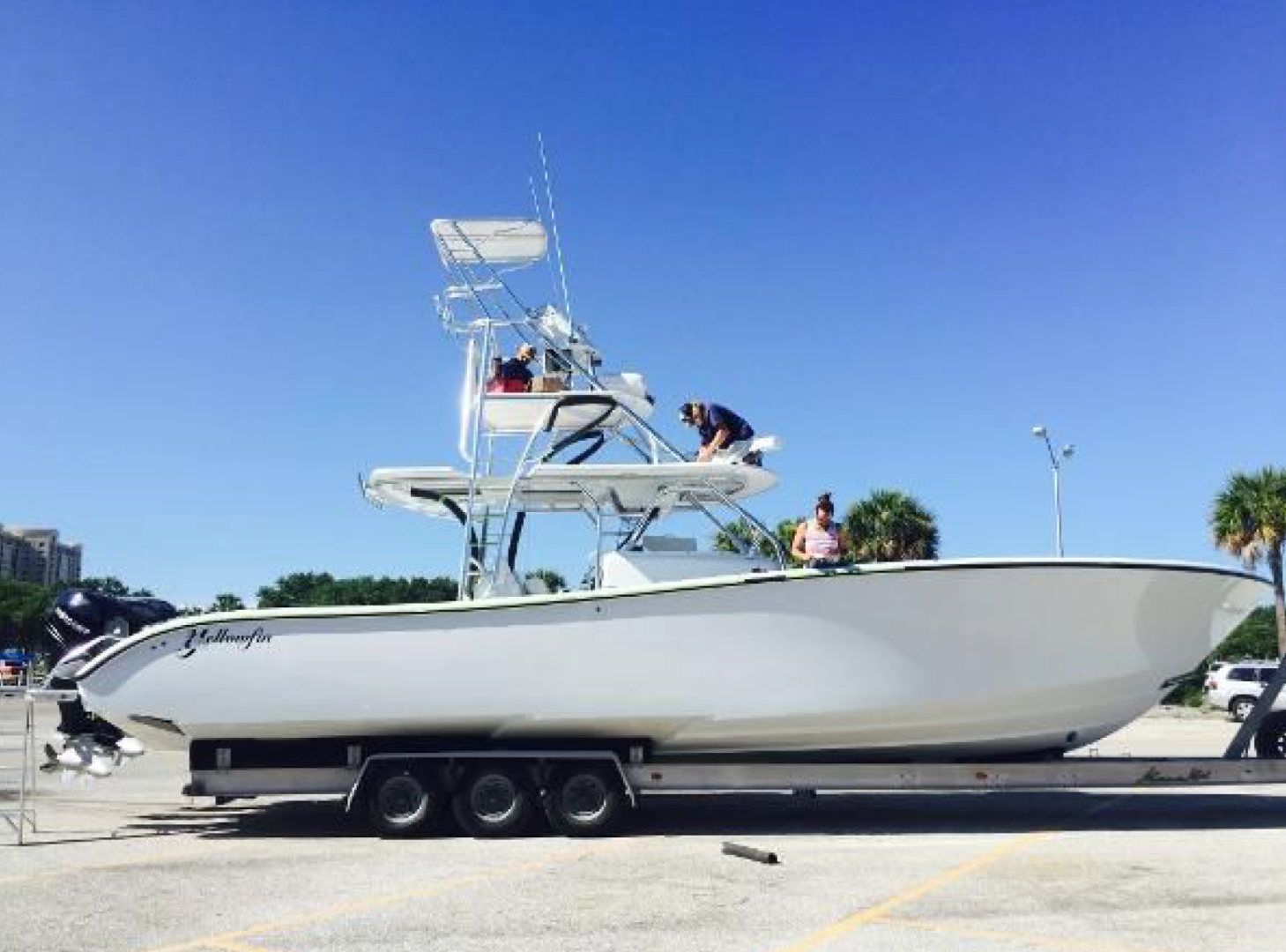 Yellowfin-Center Console 2015-ZIP A DEE St. Petersburg-Florida-United States-1288481 | Thumbnail