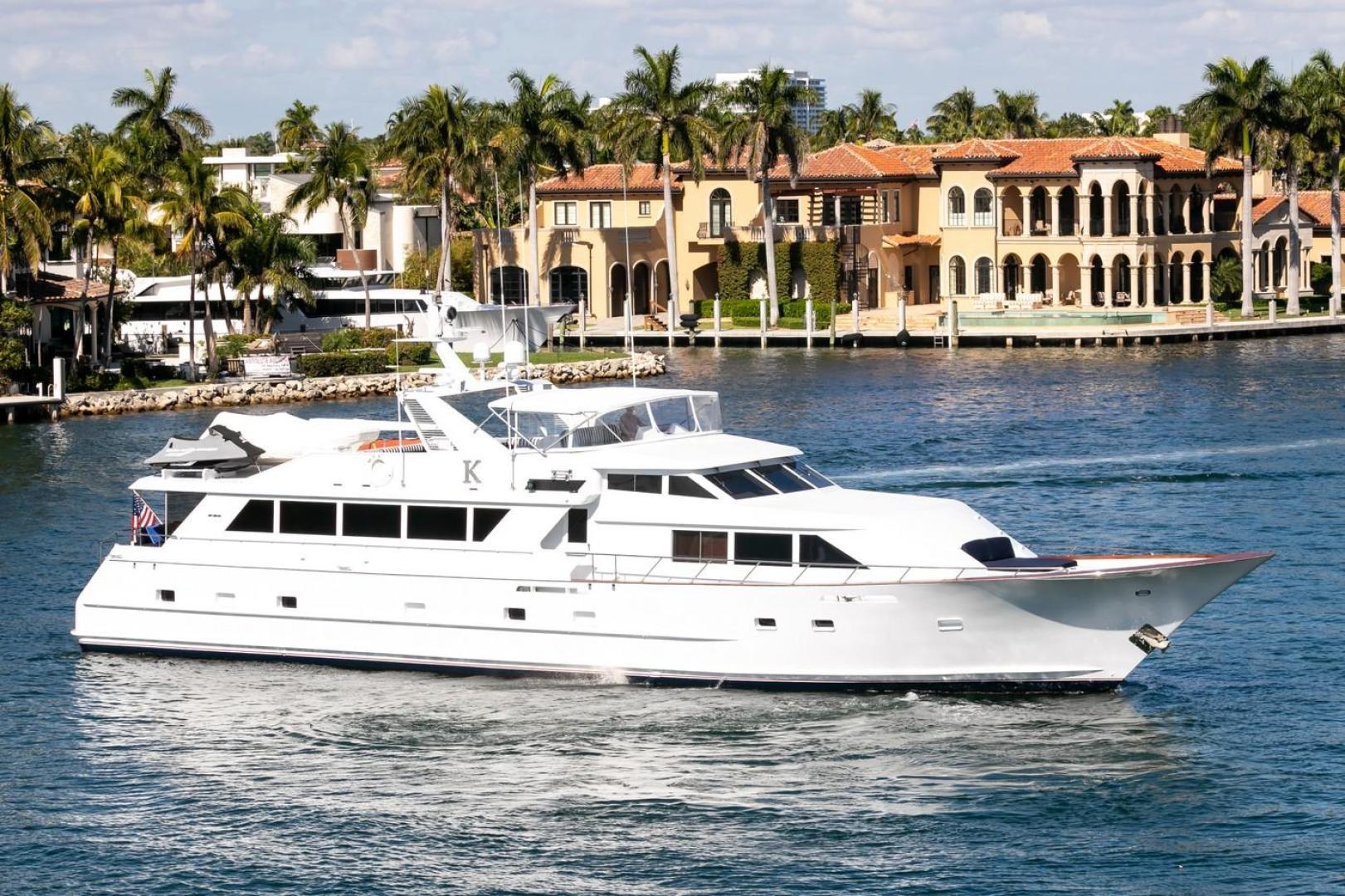Picture Of: 100' Broward 1992 Yacht For Sale | 2 of 69