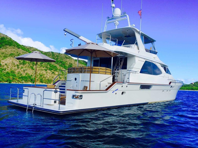 Queenship-Barretta 76 2004-SEA MYSTIC Fort Myers-Florida-United States-Stern Profile-1588169 | Thumbnail