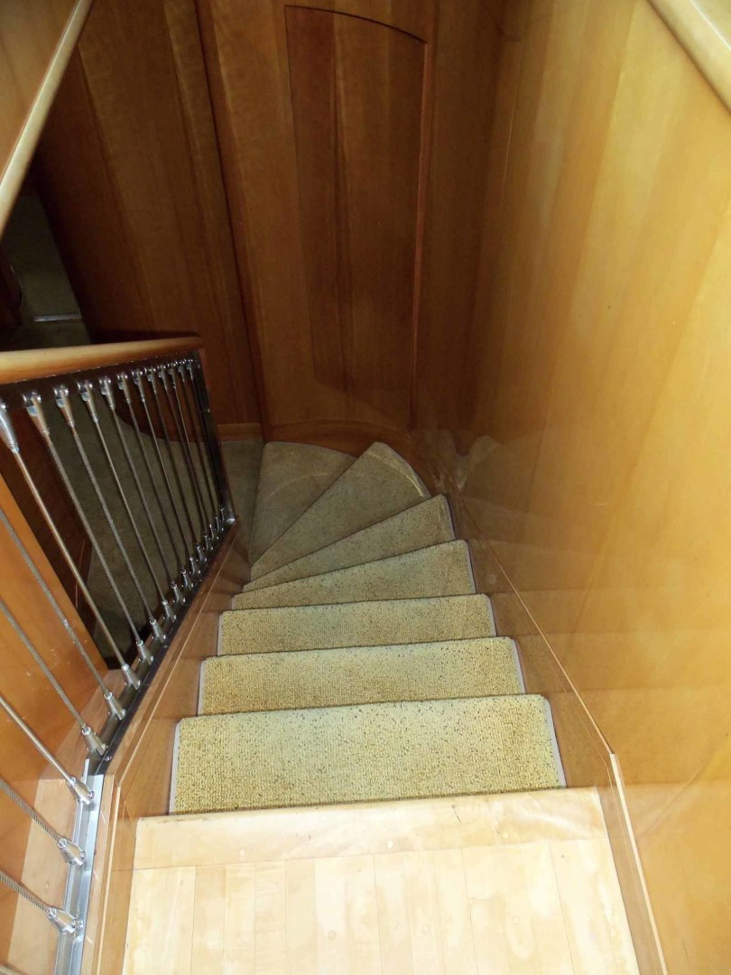 Queenship-Barretta 76 2004-SEA MYSTIC Fort Myers-Florida-United States-Accommodation Stairway-1588100 | Thumbnail