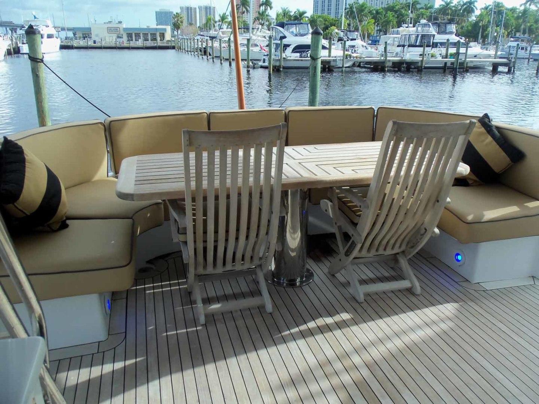 Queenship-Barretta 76 2004-SEA MYSTIC Fort Myers-Florida-United States-Aft Deck-1588128 | Thumbnail
