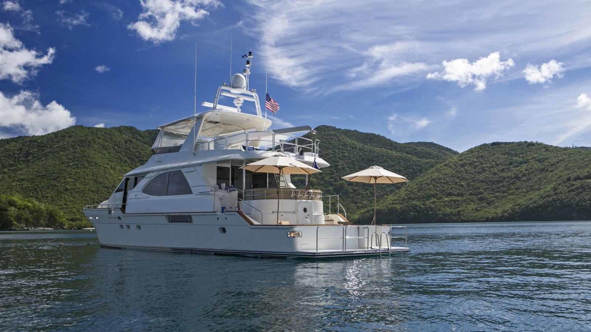 Queenship-Barretta 76 2004-SEA MYSTIC Fort Myers-Florida-United States-Stern Profile-1588170 | Thumbnail