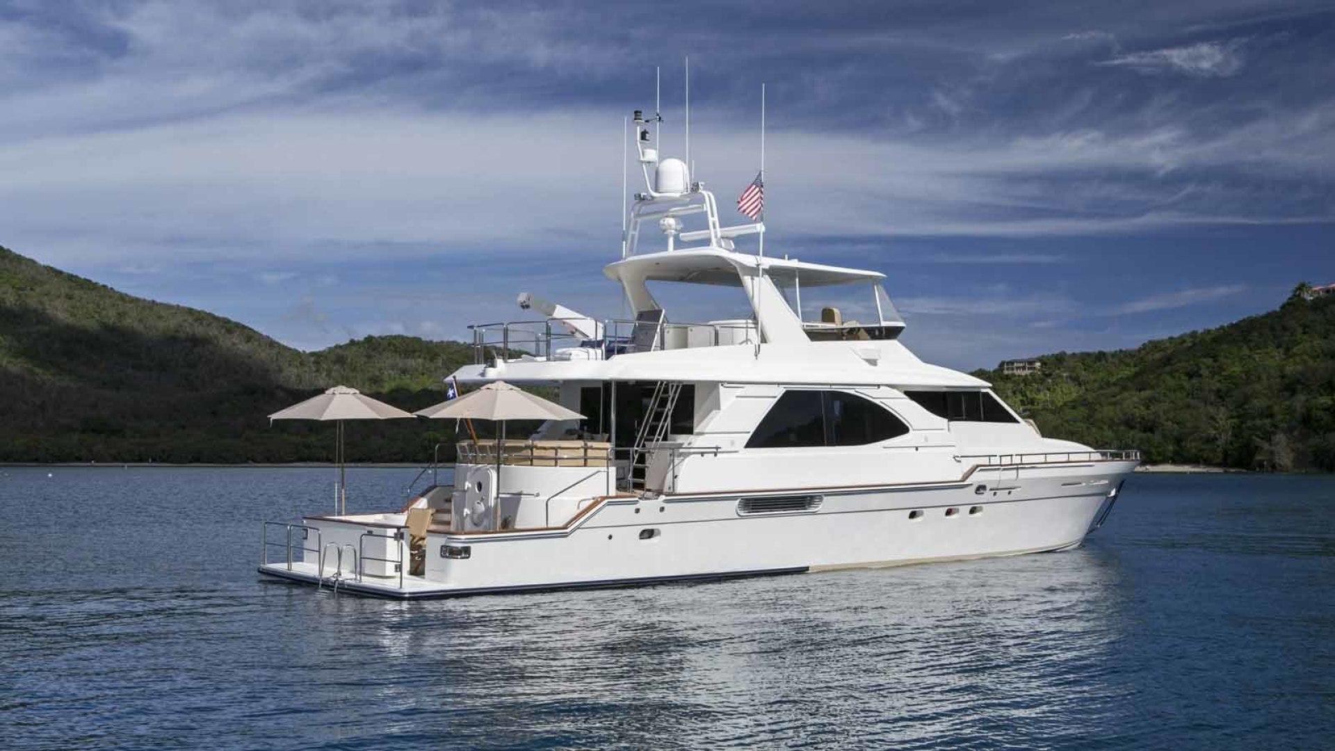 Queenship-Barretta 76 2004-SEA MYSTIC Fort Myers-Florida-United States-Stern Profile-1588171 | Thumbnail