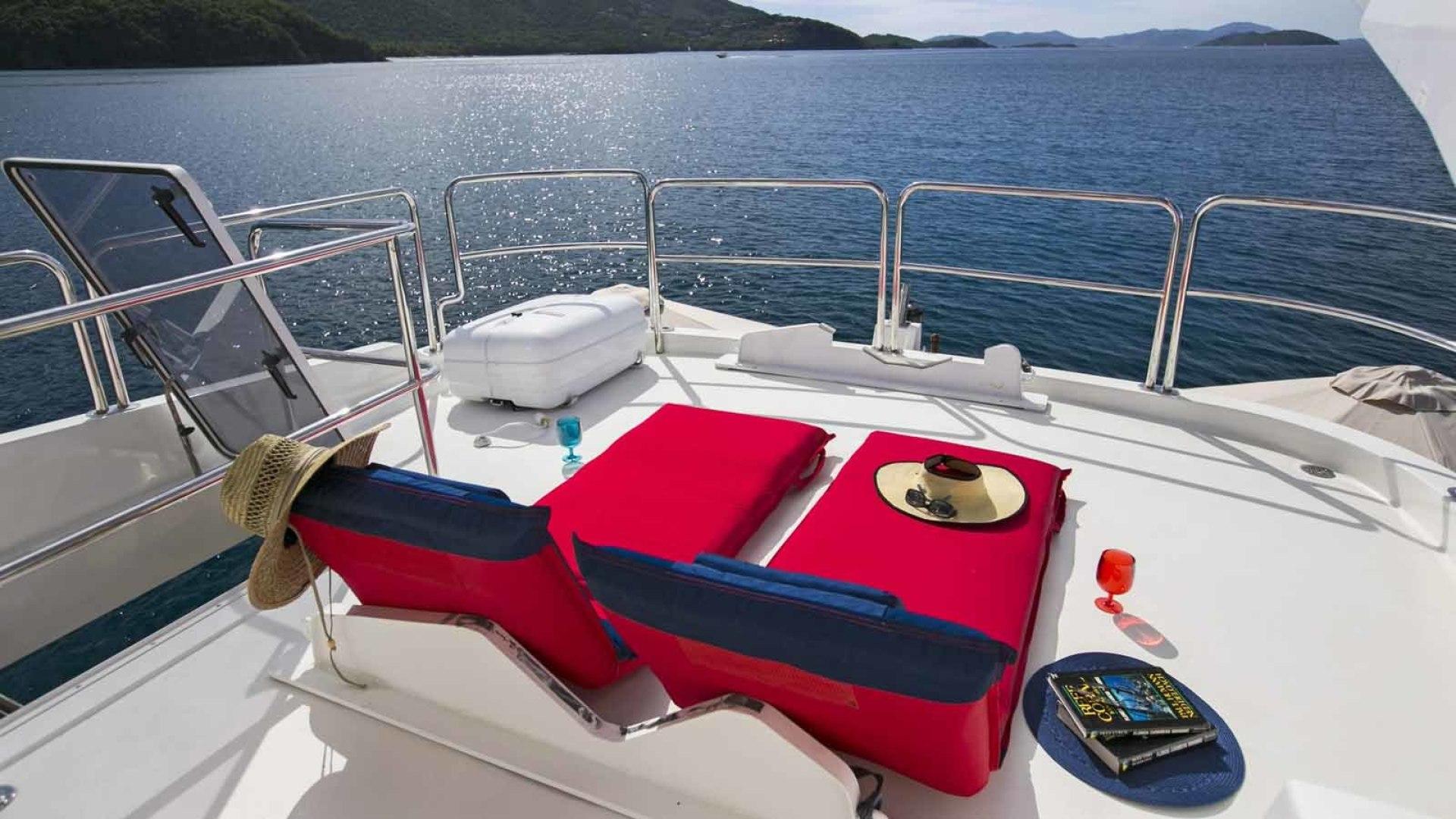 Queenship-Barretta 76 2004-SEA MYSTIC Fort Myers-Florida-United States-Boat Deck-1588144 | Thumbnail