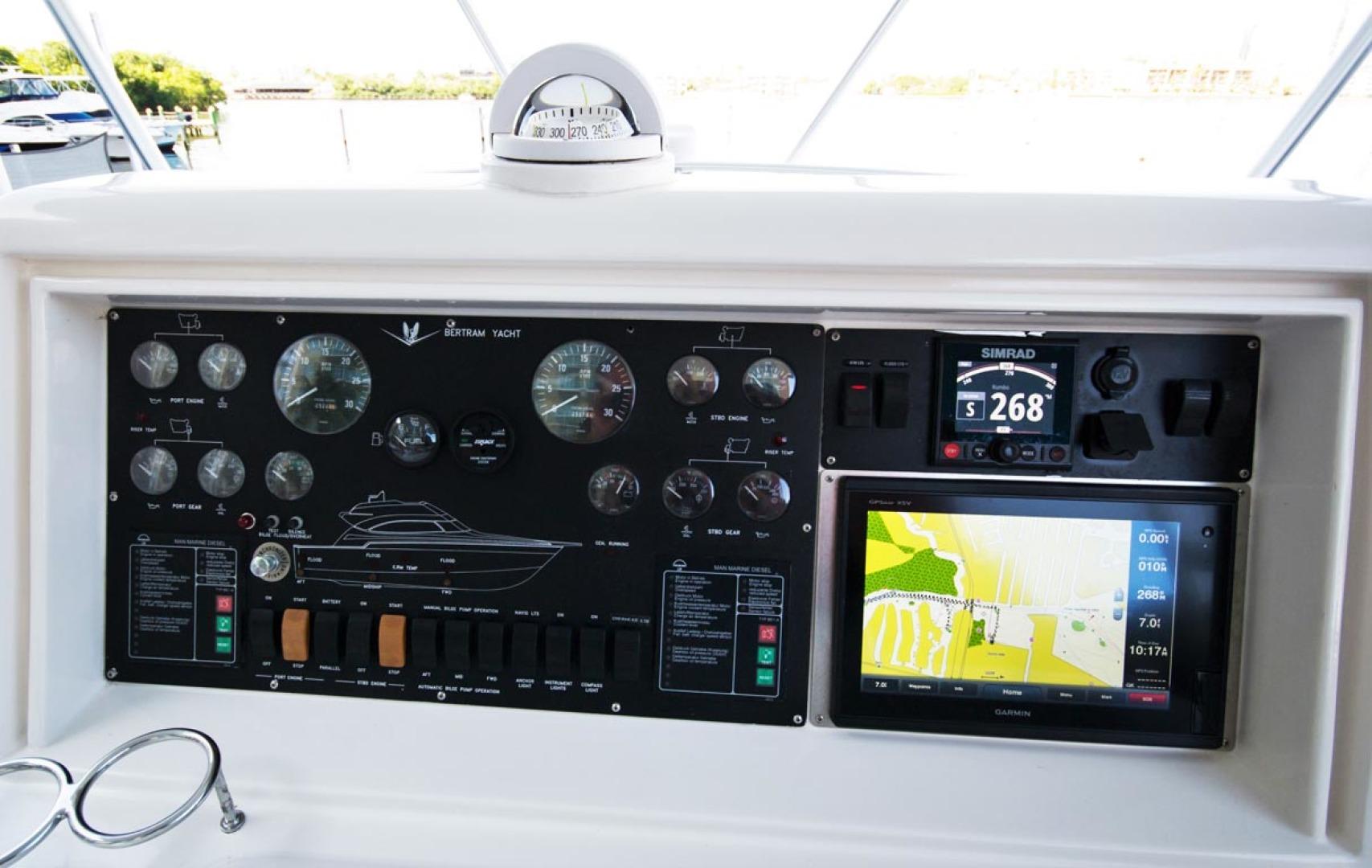 Bertram-450 Convertible 2002-SEA YA Sunny Isles Beach-Florida-United States-Helm Gauges And Electronics-1289330 | Thumbnail