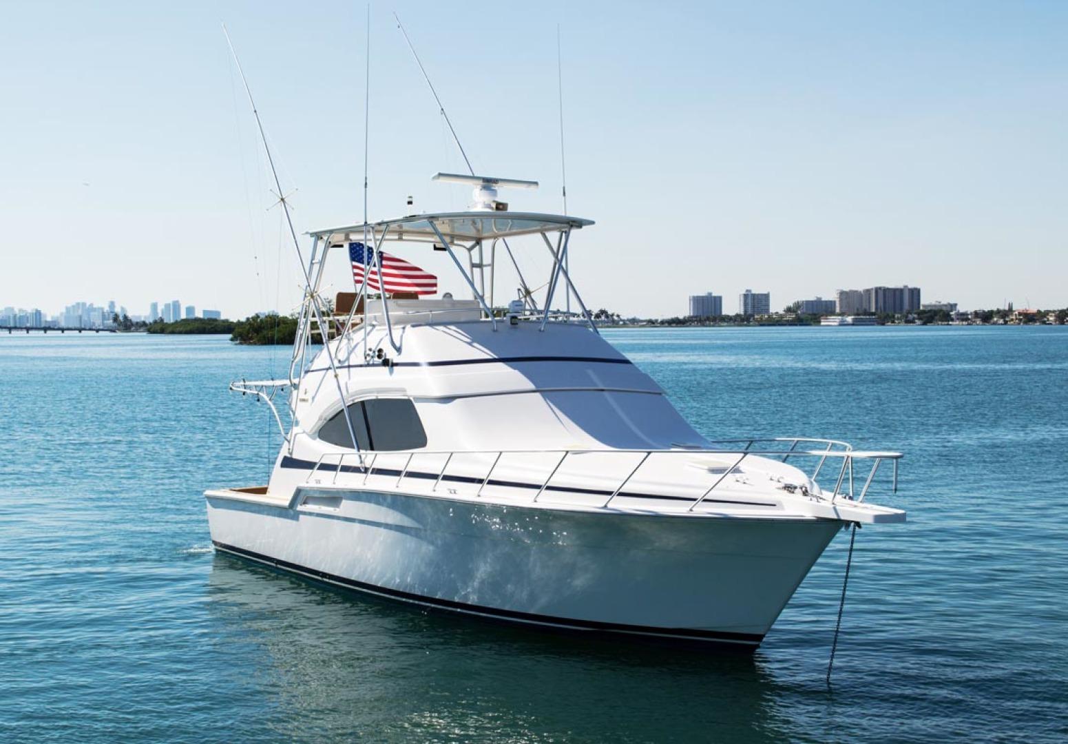 Bertram-450 Convertible 2002-SEA YA Sunny Isles Beach-Florida-United States-Starboard Bow-1289302 | Thumbnail