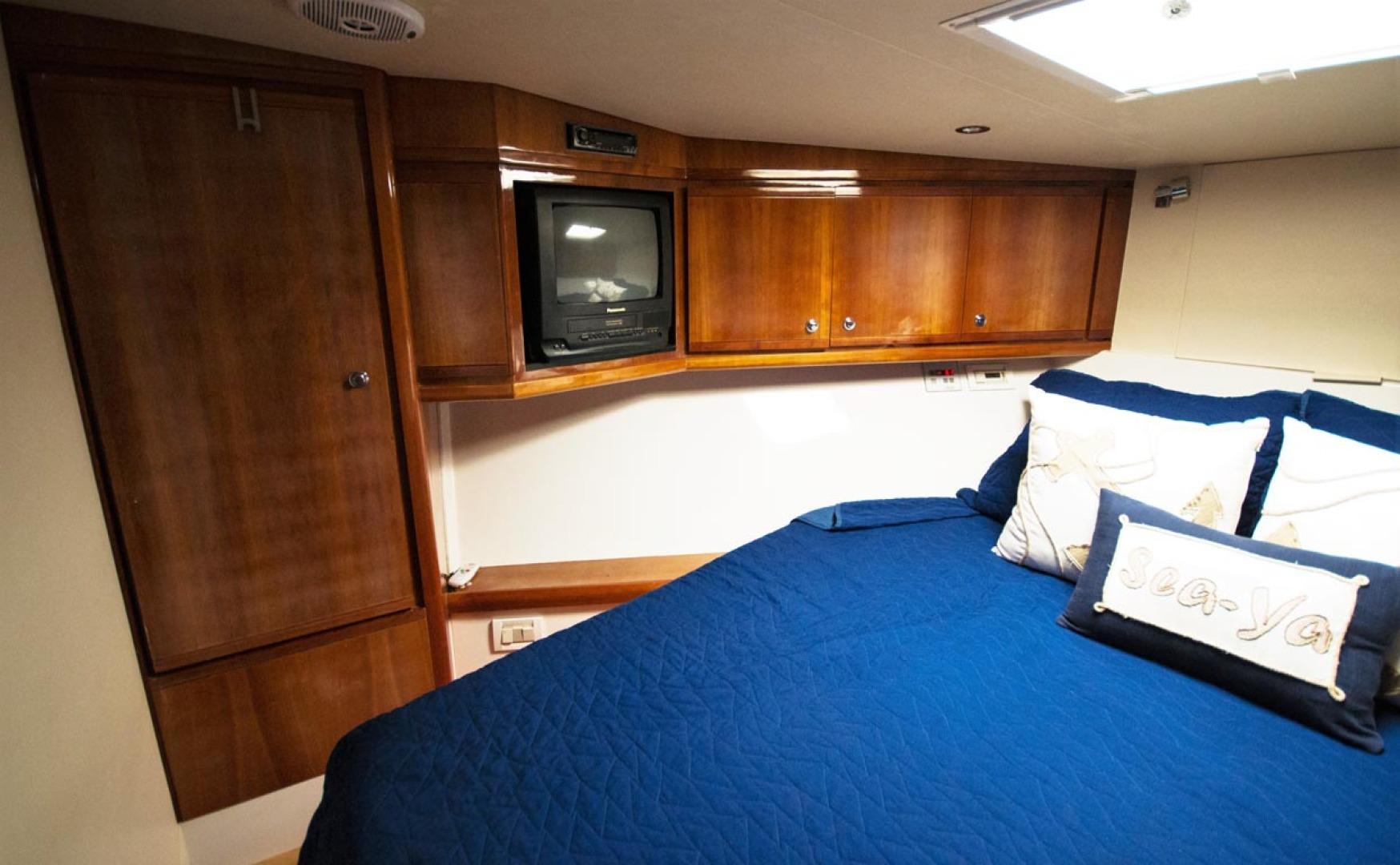 Bertram-450 Convertible 2002-SEA YA Sunny Isles Beach-Florida-United States-Master Stateroom Port-1289321 | Thumbnail