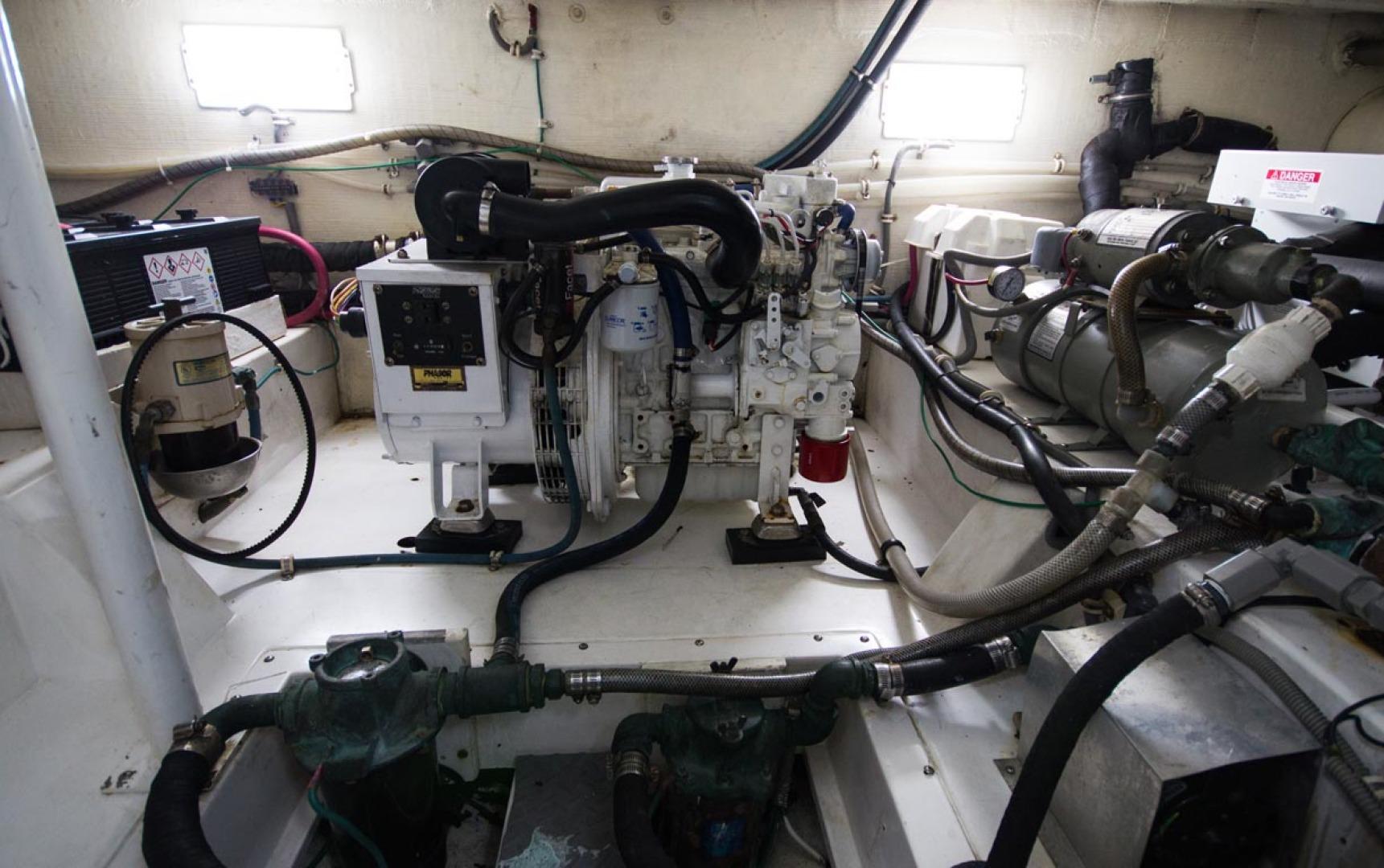 Bertram-450 Convertible 2002-SEA YA Sunny Isles Beach-Florida-United States-Generator-1289339 | Thumbnail
