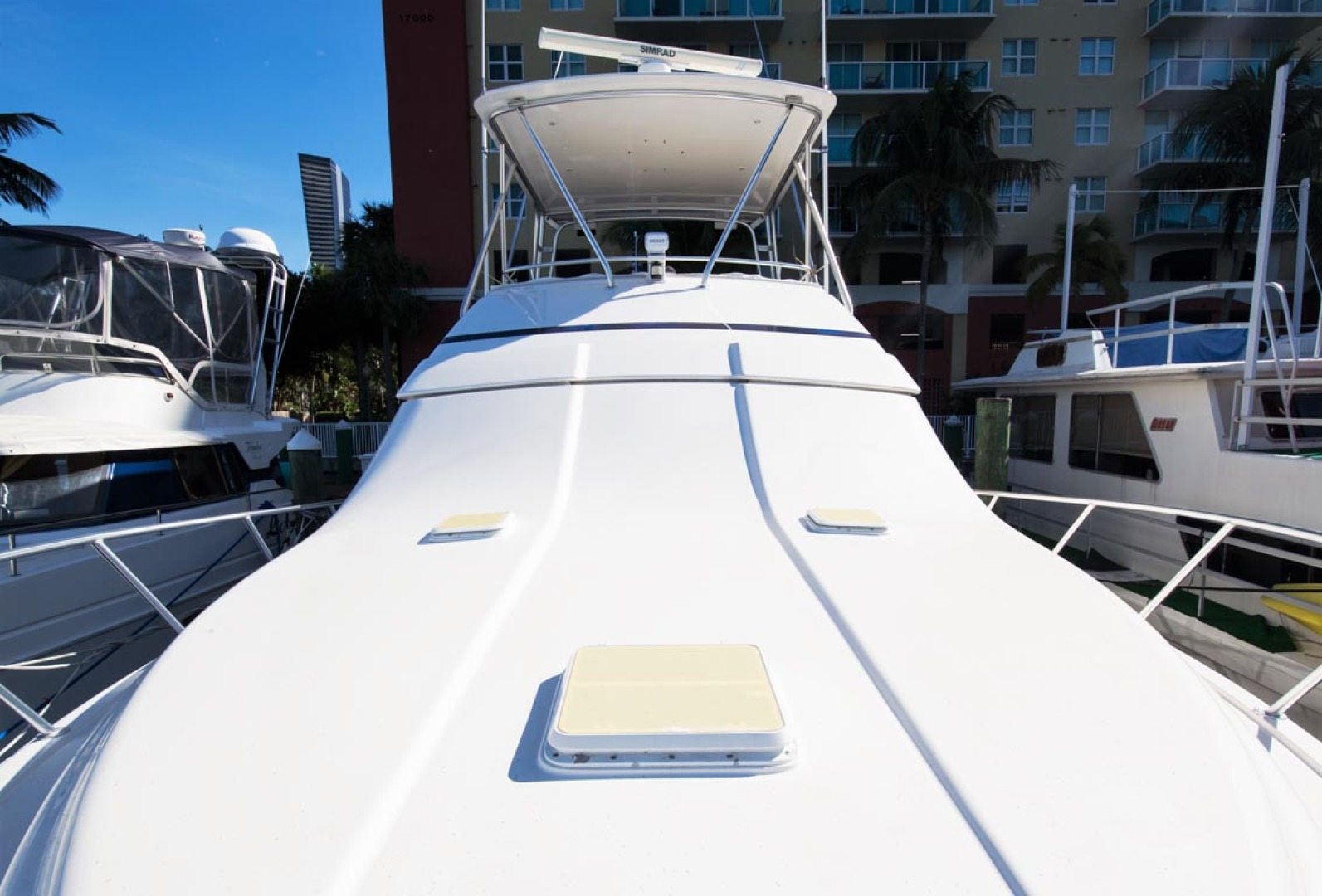 Bertram-450 Convertible 2002-SEA YA Sunny Isles Beach-Florida-United States-Foredeck-1289306 | Thumbnail