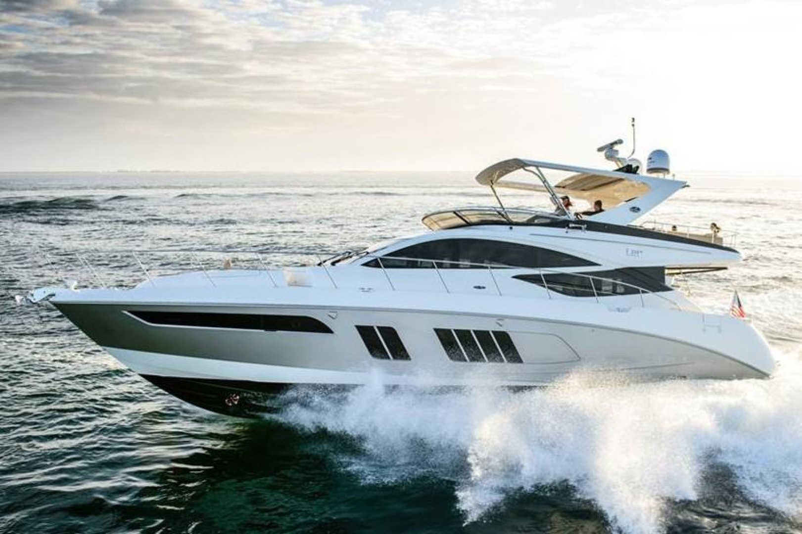 Picture Of: 65' Sea Ray L650 Fly 2015 Yacht For Sale | 1 of 2