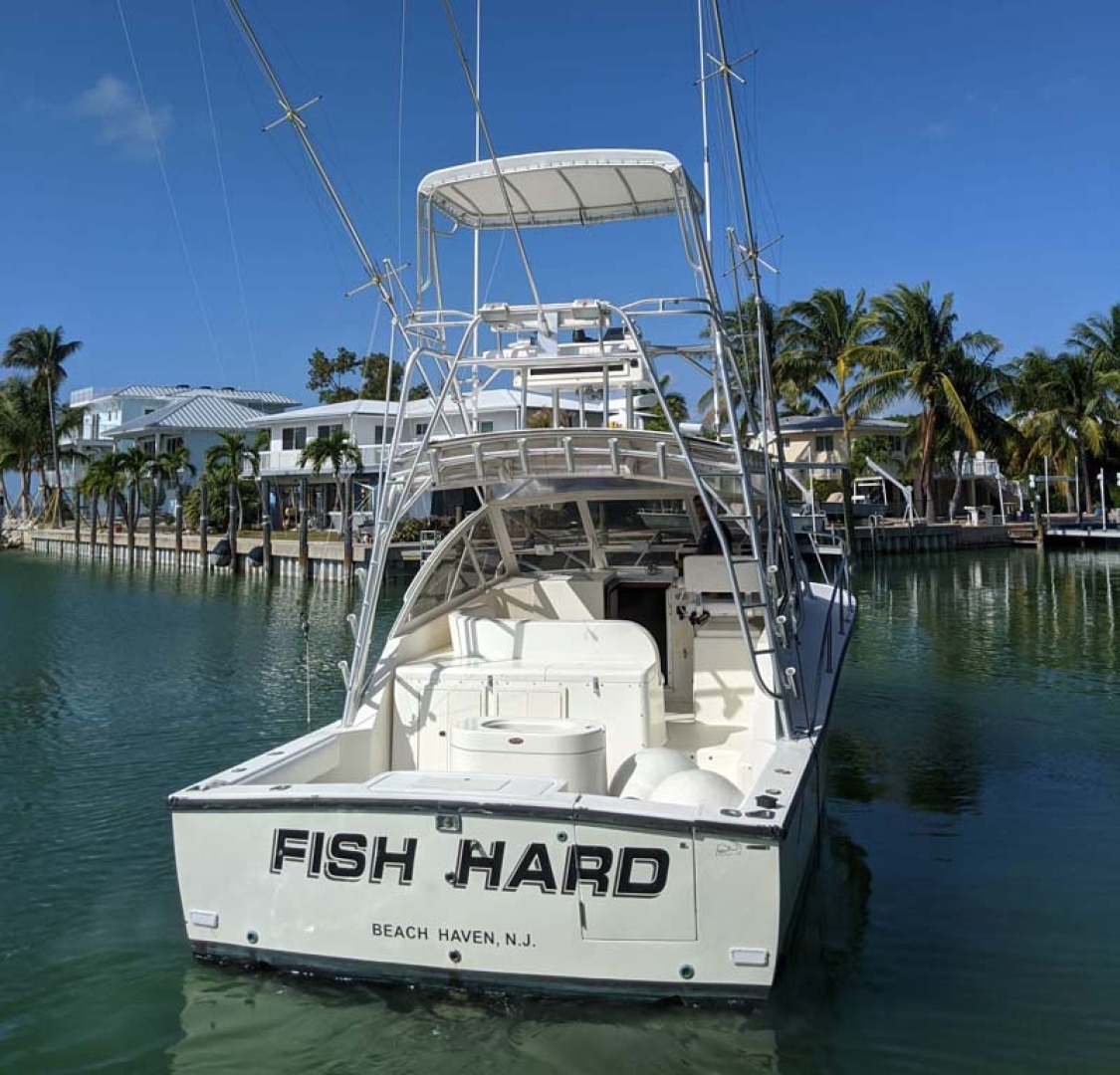 Carolina Classic-35 Express 2001-Fish Hard Key Largo-Florida-United States-Stern-1289633 | Thumbnail