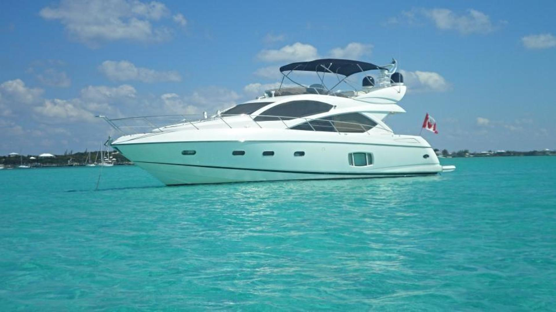 Picture Of: 60' Sunseeker Manhattan 60 2009 Yacht For Sale   1 of 54