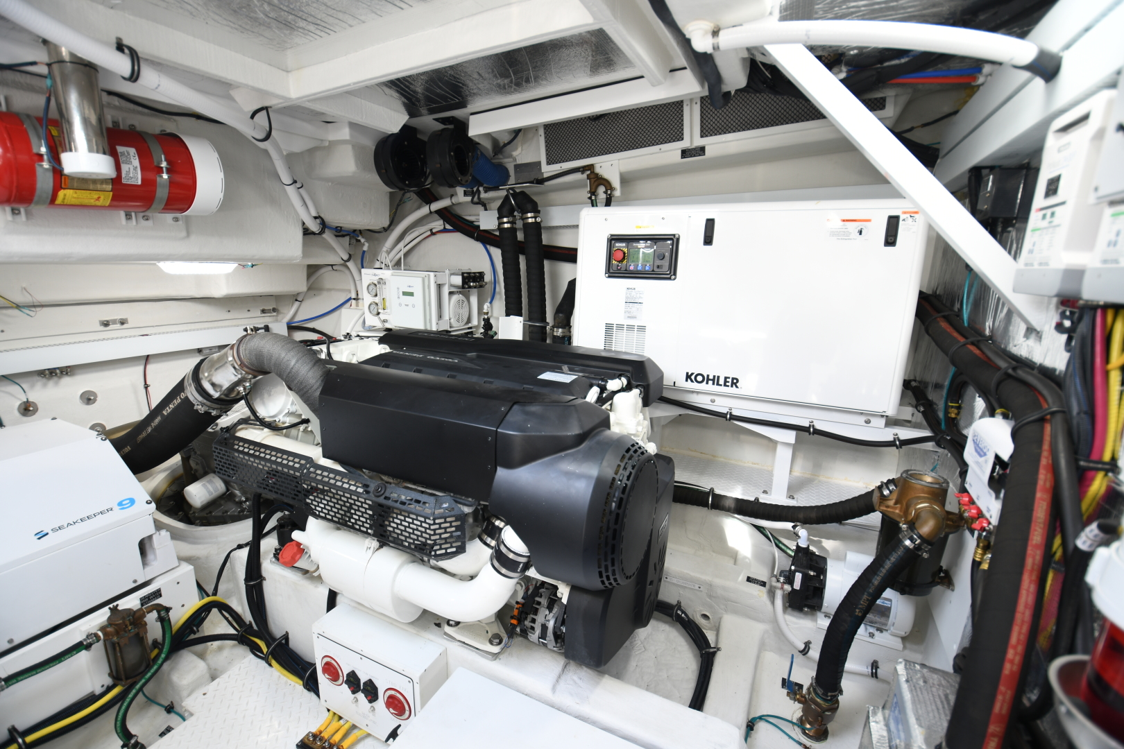 Cruisers-54 Cantius 2018-Pipe Dream St.Petersburg-Florida-United States-2018 Cruisers 58 Cantius Engine Room-1322955 | Thumbnail