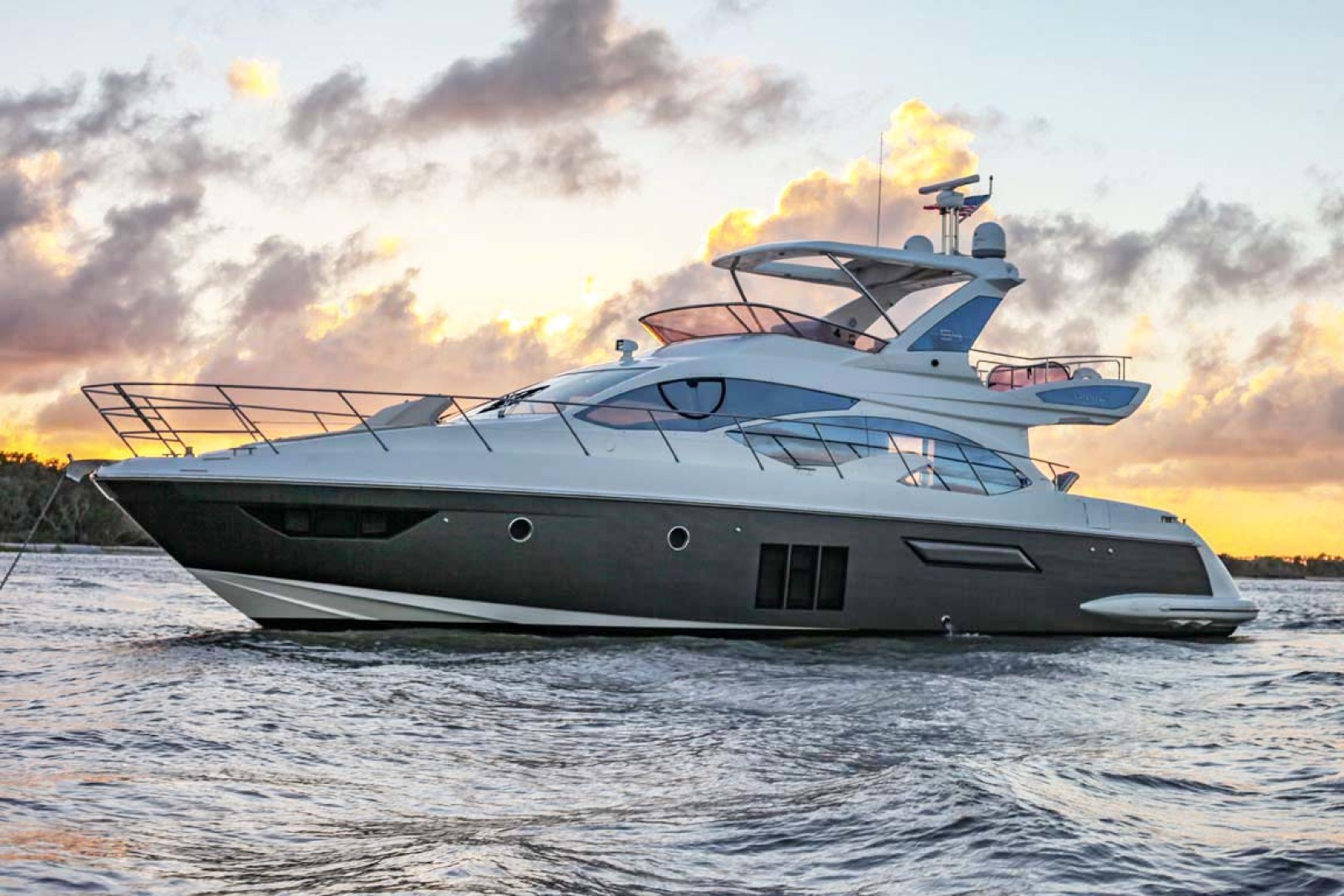 Azimut-54 Flybridge 2014-Suits Fort Lauderdale-Florida-United States-Main Profile-1292148 | Thumbnail