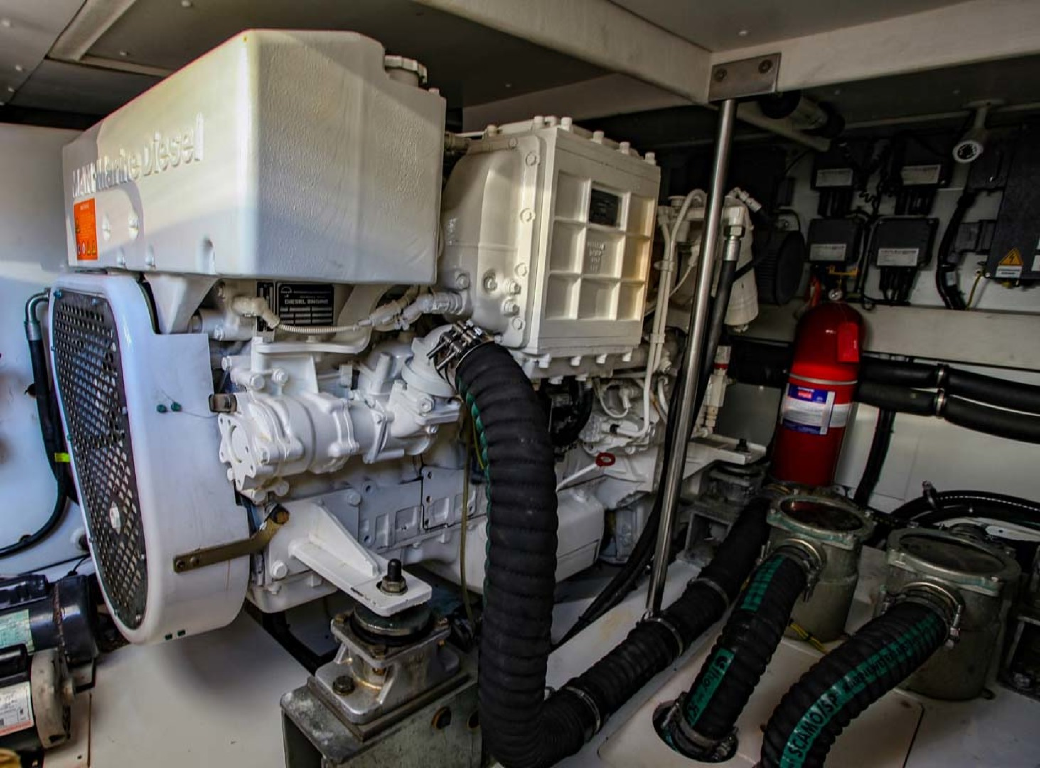 Azimut-54 Flybridge 2014-Suits Fort Lauderdale-Florida-United States-Engine Room-1292189 | Thumbnail