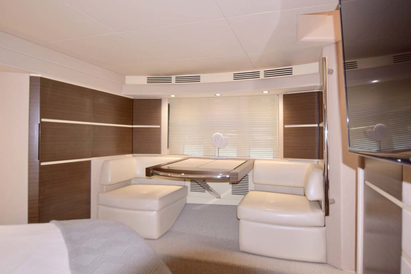 Azimut-54 Flybridge 2014-Suits Fort Lauderdale-Florida-United States-Main Stateroom Desk Vanity View From Bed-1292176 | Thumbnail