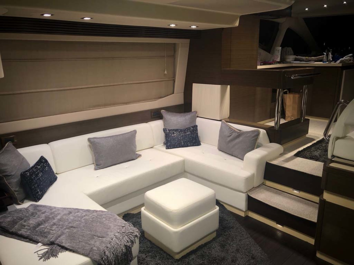 Azimut-54 Flybridge 2014-Suits Fort Lauderdale-Florida-United States-Salon Lit For Evening-1292168 | Thumbnail