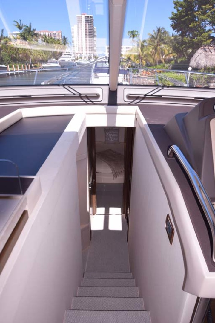 Azimut-54 Flybridge 2014-Suits Fort Lauderdale-Florida-United States-Windshield And Staircase-1292171 | Thumbnail