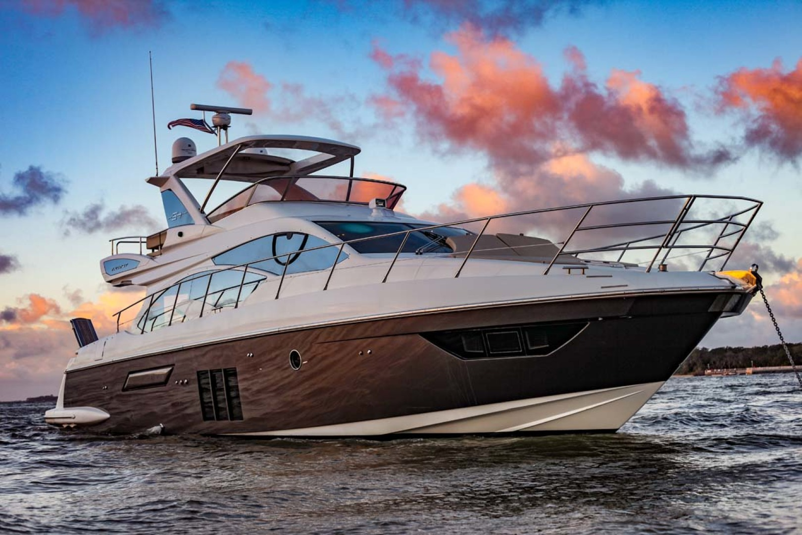Azimut-54 Flybridge 2014-Suits Fort Lauderdale-Florida-United States-Starboard Bow-1292192 | Thumbnail