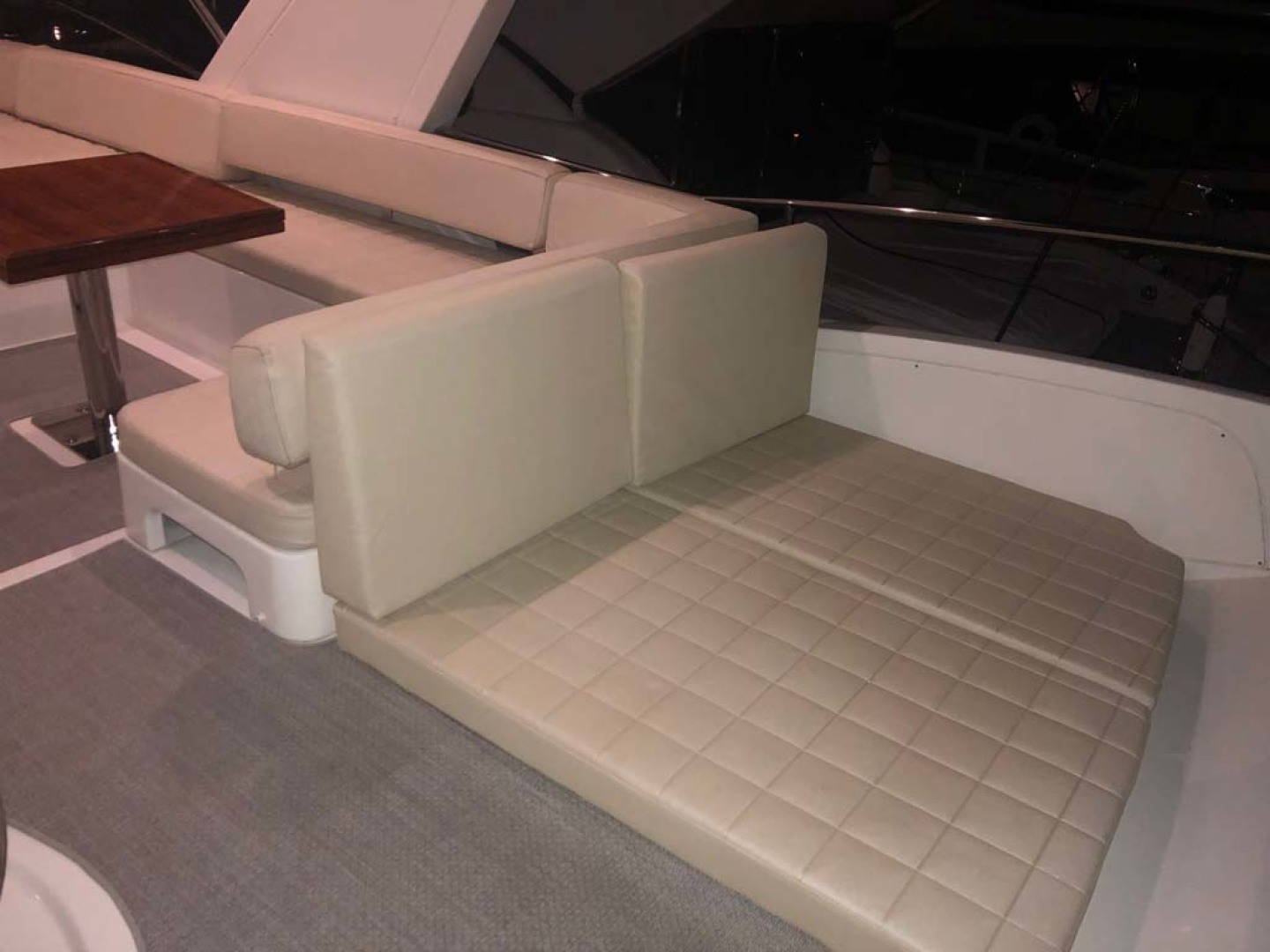 Azimut-54 Flybridge 2014-Suits Fort Lauderdale-Florida-United States-Flybridge Cushions In Aft-1292186 | Thumbnail