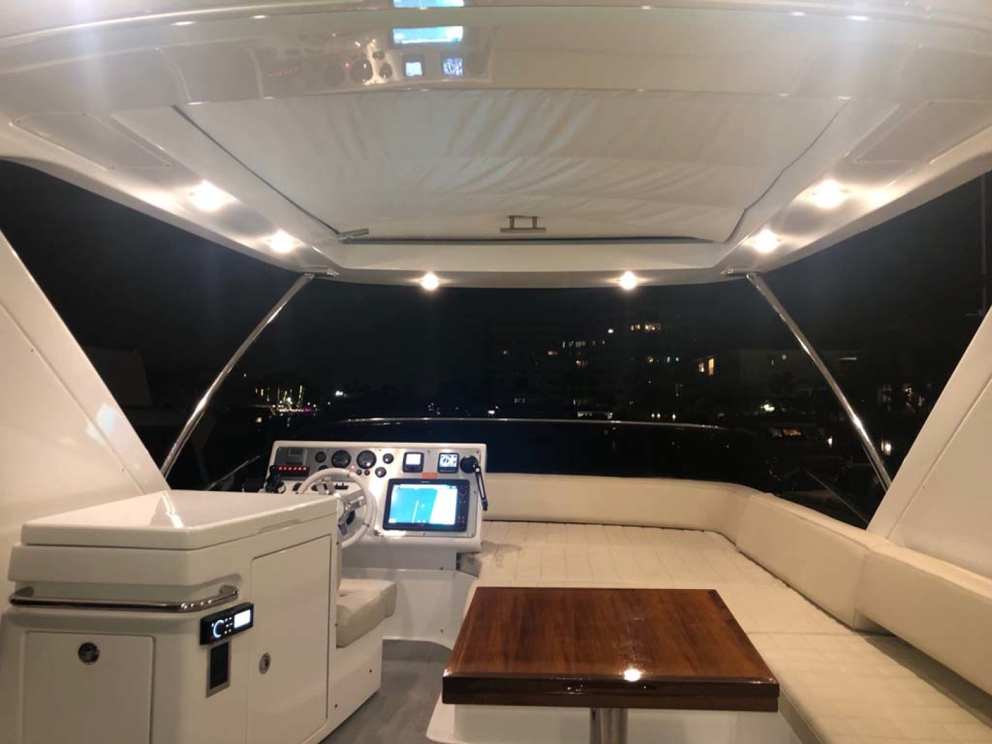 Azimut-54 Flybridge 2014-Suits Fort Lauderdale-Florida-United States-Flybridge Aft View To Bow-1292184 | Thumbnail