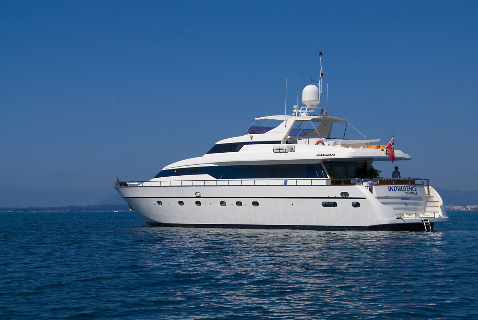 Picture Of: 85' Mangusta 1998 Yacht For Sale | 1 of 14