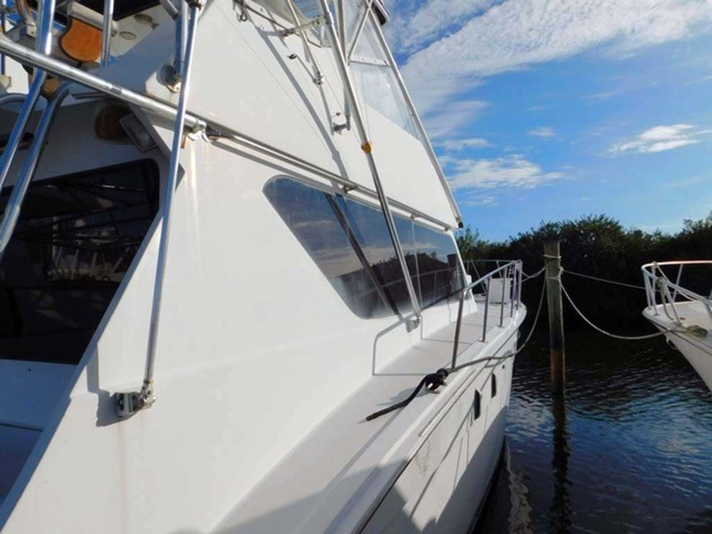 Hatteras-Convertible 1986-My Alyby Merritt Island-Florida-United States-Starboard Window-1294814 | Thumbnail