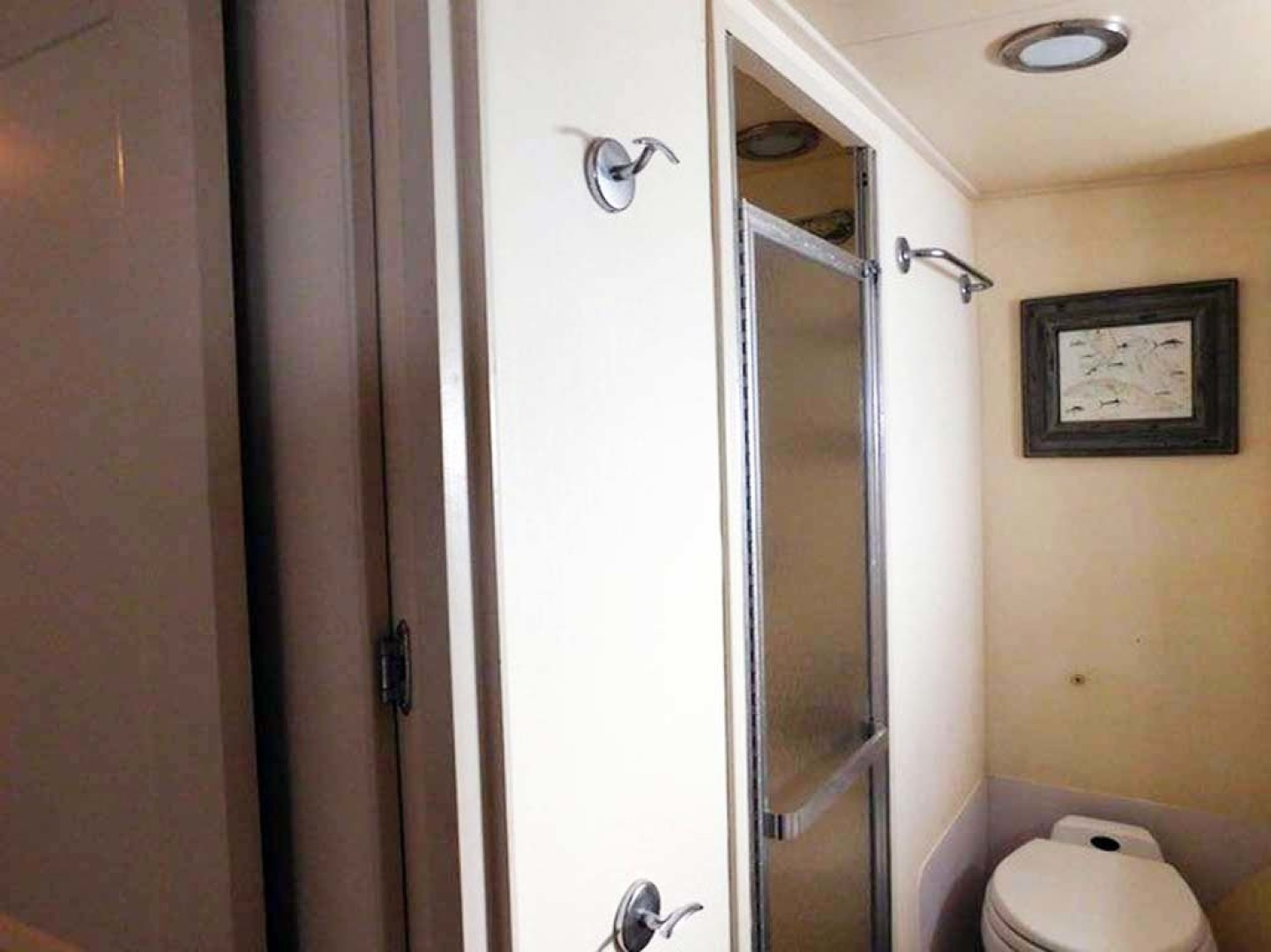 Hatteras-Convertible 1986-My Alyby Merritt Island-Florida-United States-Master Shower-1294837 | Thumbnail