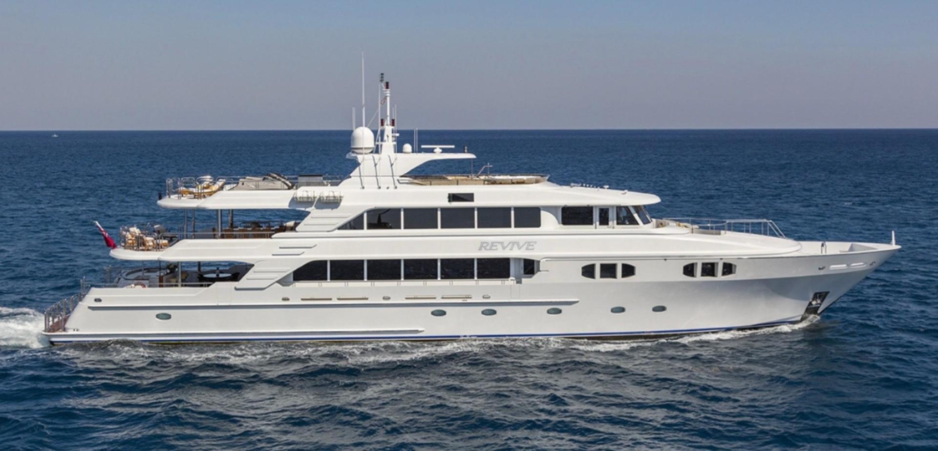 150' Richmond Yachts 2013 Tri-deck Motor Yacht Revive