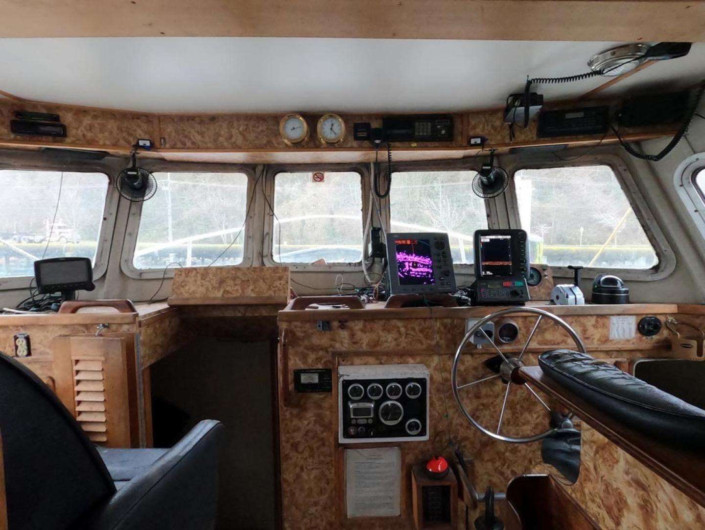 Custom-Bram Mfg/FH Marine 1989-Saint Jude Port Angeles-Washington-United States-Forward View-1298152 | Thumbnail