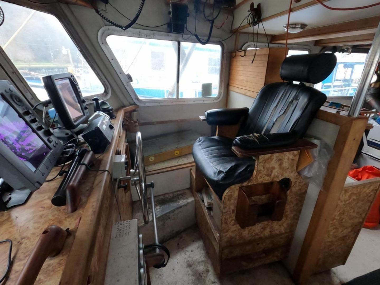 Custom-Bram Mfg/FH Marine 1989-Saint Jude Port Angeles-Washington-United States-Helm Station-1298154 | Thumbnail