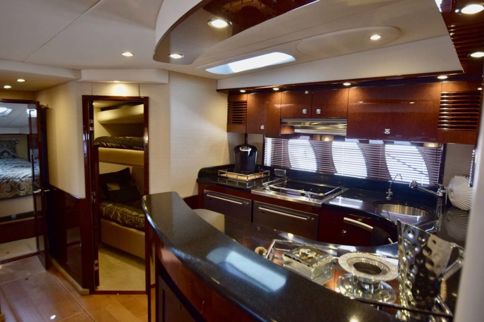 Sea Ray-Sundancer 610 2012-SON RYS Fort Myers-Florida-United States-Galley View From Steps-1298454 | Thumbnail