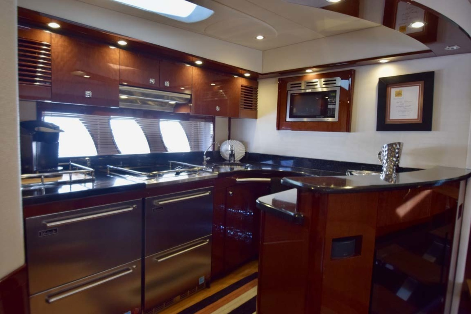Sea Ray-Sundancer 610 2012-SON RYS Fort Myers-Florida-United States-Galley With Frisge And Freezer Drawers-1298455 | Thumbnail
