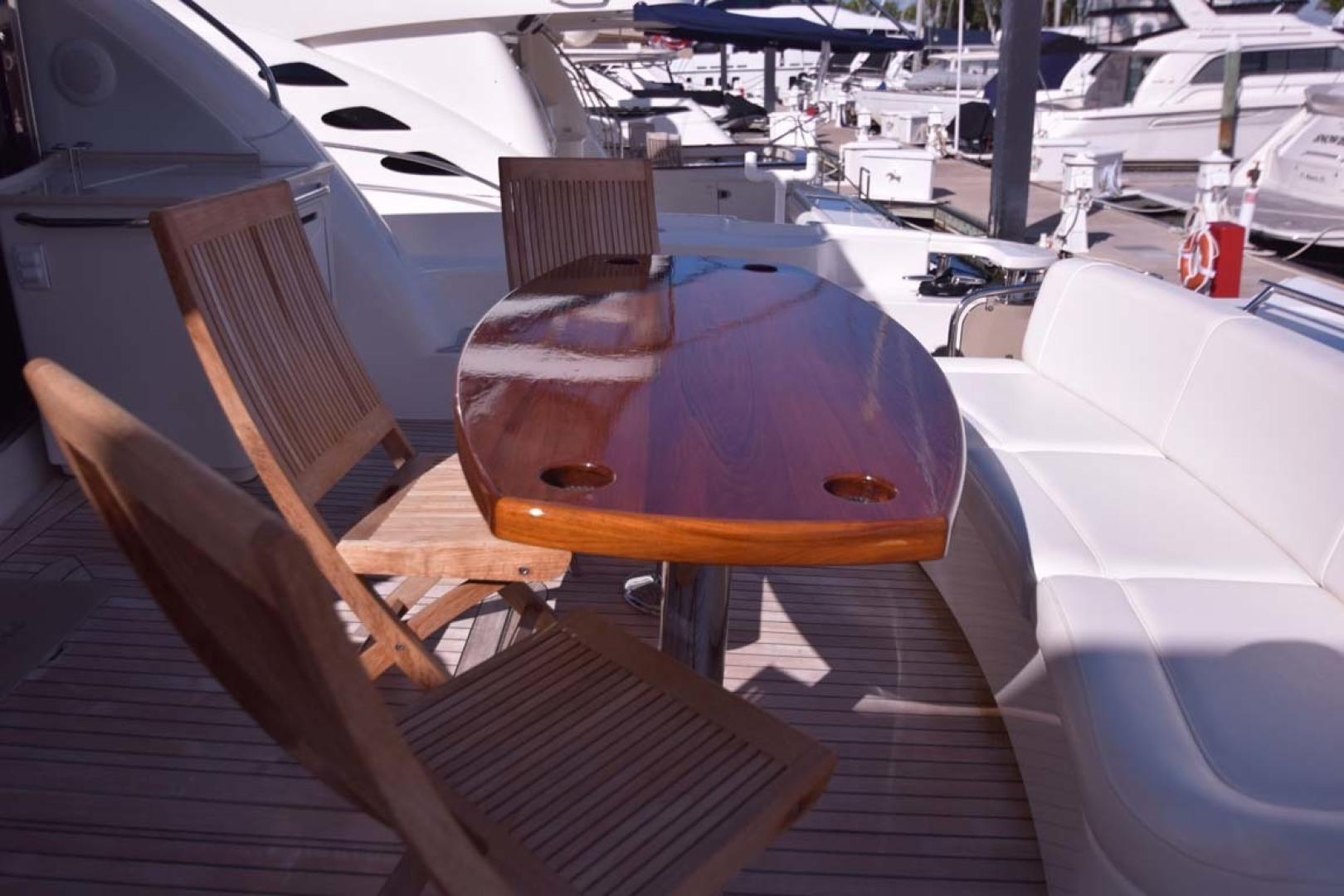Sea Ray-Sundancer 610 2012-SON RYS Fort Myers-Florida-United States-Aft Deck Furniture-1298494 | Thumbnail